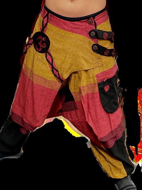 Thick Cotton Harem Pants