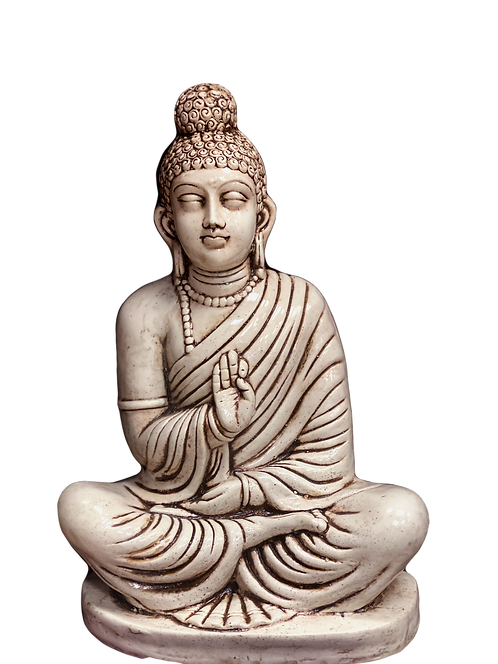 Pale Protection Buddha