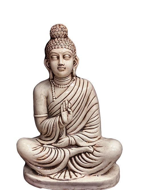 Pale Protection Buddha
