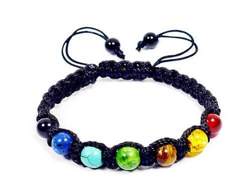 7 chakra unisex bracelet