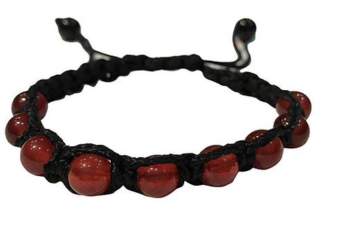 Red Onyx Thread Bracelet