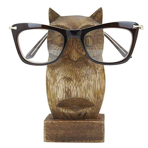 Owl glasses stand