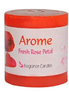 Rose Aroma Candle
