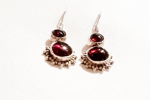 Granite Stone Earrings