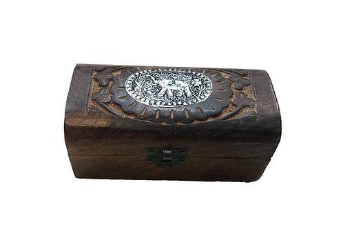Mini Elephant Badge Box