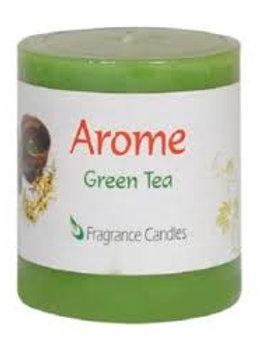 Green Tea Aroma Candle