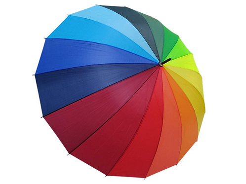 Rainbow Long Umbrella
