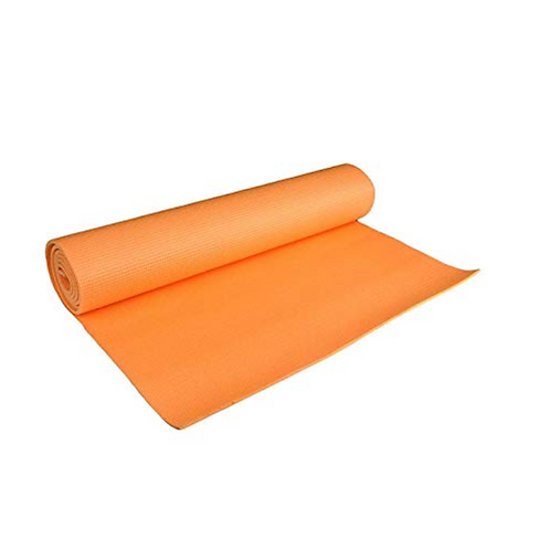 Orange 4mm Yoga Mat