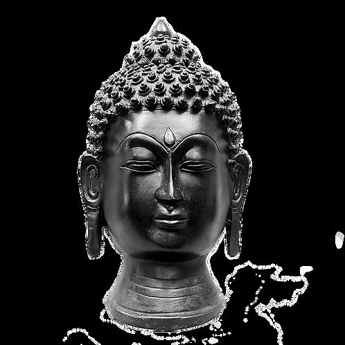 Buddha Head Black