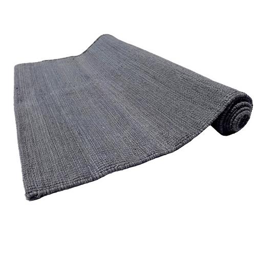 Grey Cotton Yoga Mat