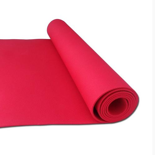 Bright Pink 4mm Premium Yoga Mat