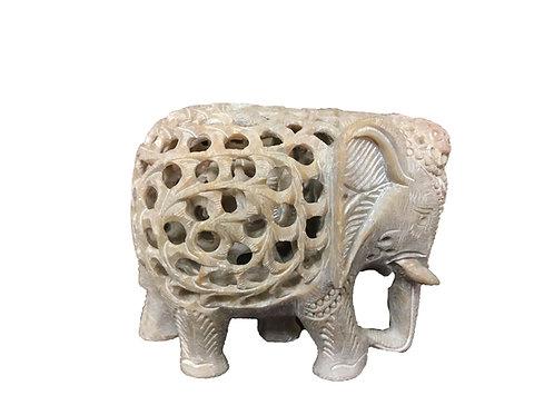 Hand Carved Elephant Inside the Elephant