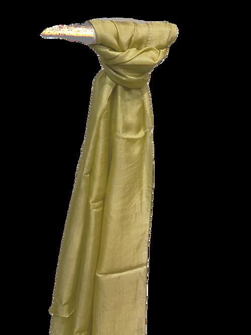 G-Beige Silk Scarf