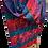 Thumbnail: Purple-Blue Wool Scarf