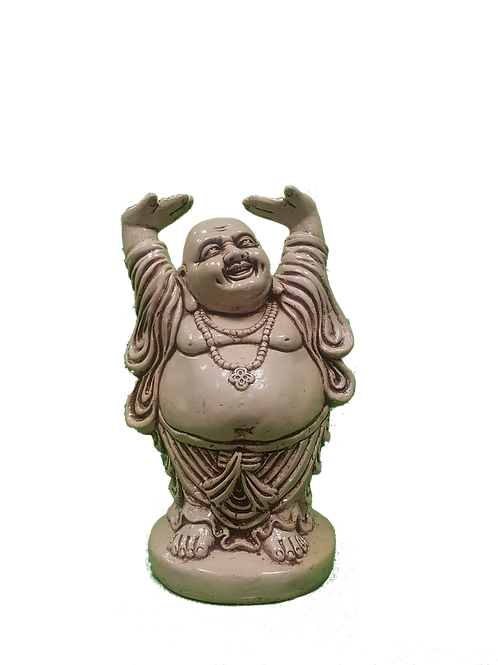 Pale Laughing Buddha