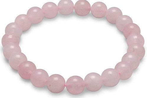 Rose Quartz Stone Bracelet