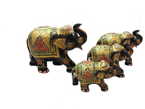 Dressed Elephants