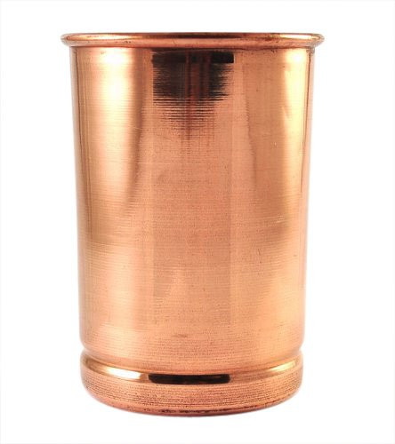 Reap th benfits of copper - start by using copper glass to drink water. Click to buy.