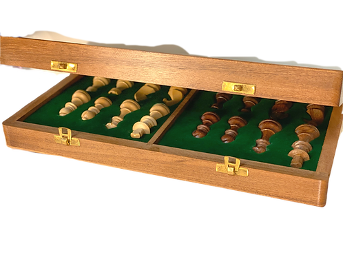 Large Wooden Magnetic Chess
