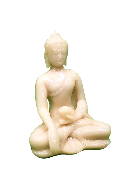 Earth Touching Buddha - White