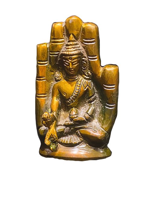Earth Touching Buddha in Hand