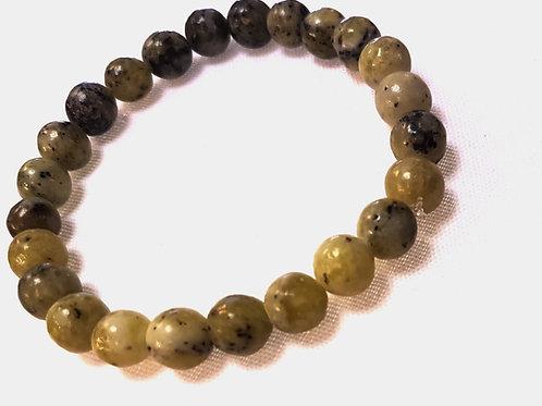Serpentine Stone Bracelet