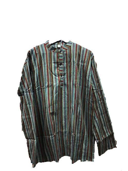 Striped Kurta (Cotton)