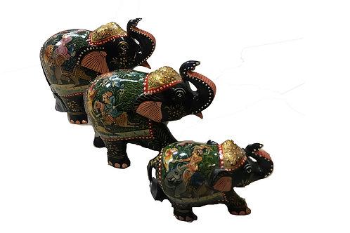 Hand Painted Elephants