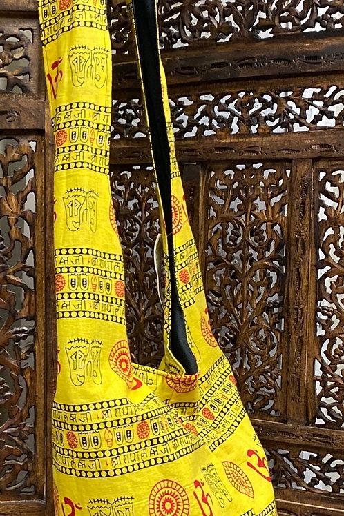Bright Yellow Crossbody Bag