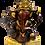 Thumbnail: Gold Color Painted Ganesha