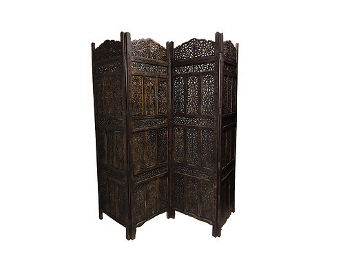 Queen Carved Room Divider