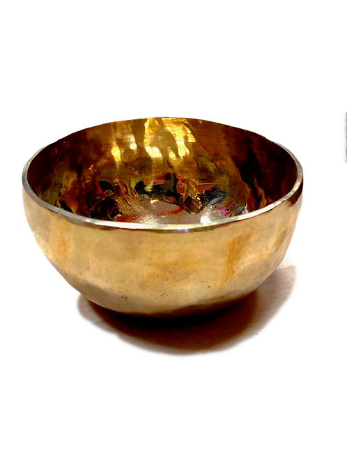 Brass Hammered Singing Bowl