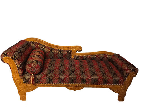 King Couch Red