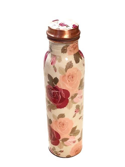 Rose Copper Bottle
