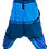 Thumbnail: Blue Thick Cotton Harem Pants