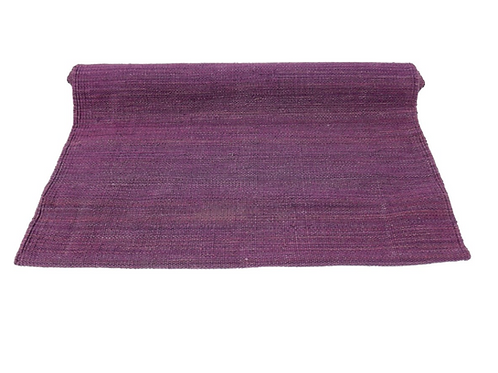 Purple Organic Cotton Yoga Mat