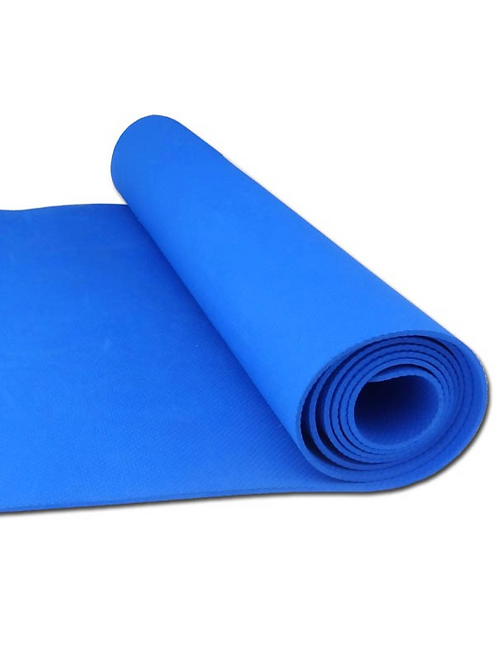 Basic Blue 8mm Premium Yoga Mat