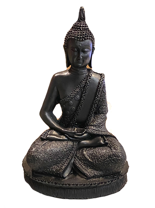 Buddha in Meditation Engraved