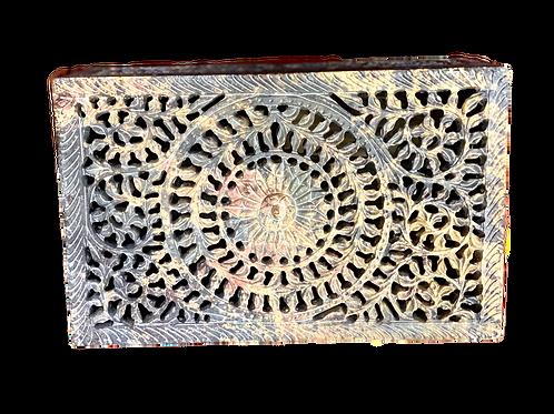 Stone Carved XL Box