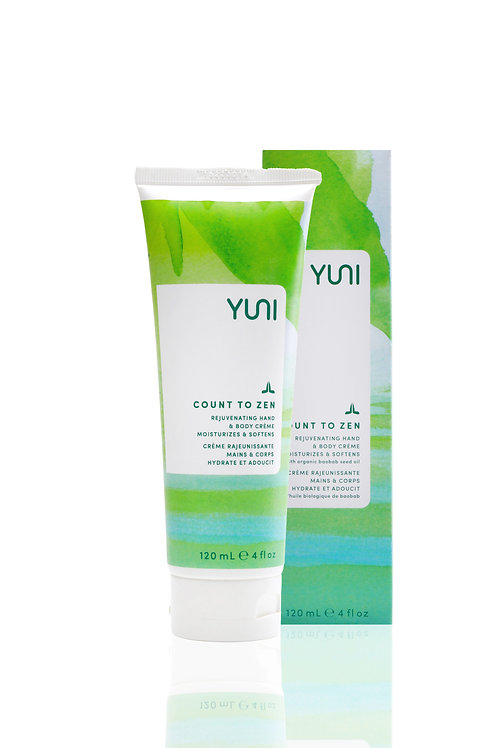 Count to Zen - Rejuvenating Hand and Body Creme (Travel Size) - YUNI