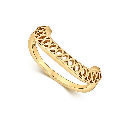 LBL Seville Dome Ring Gold