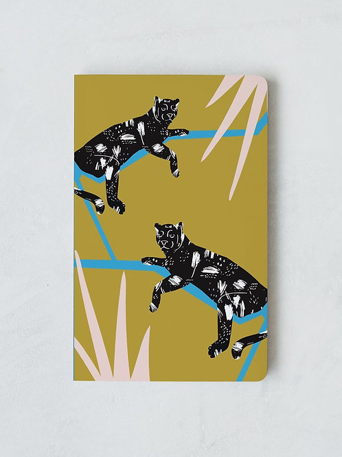 Denik Two Jaguars Notebook