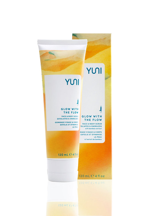Glow With the Flow - Face and Body Scrub - YUNI