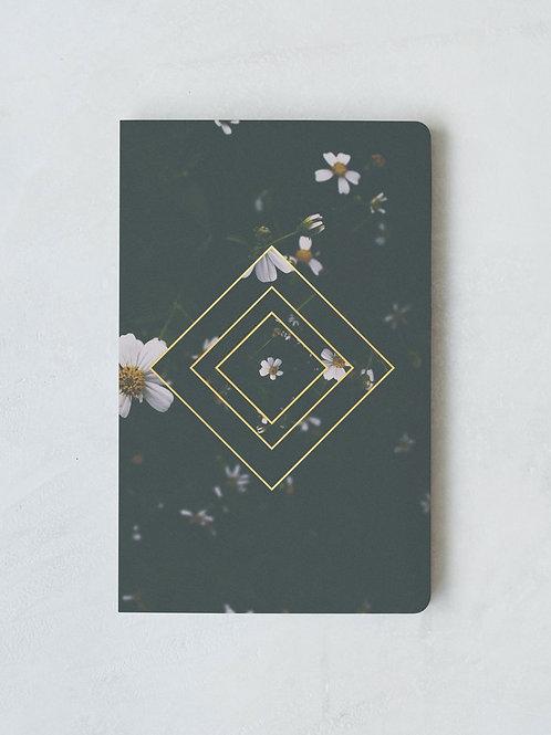 Denik Emerald Floral Notebook