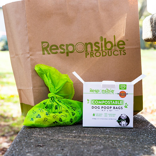 Compostable Dog Poop Bags - Responsible Products