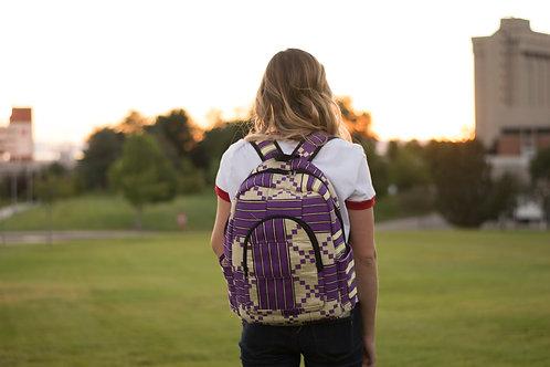 Kente Style Backpack