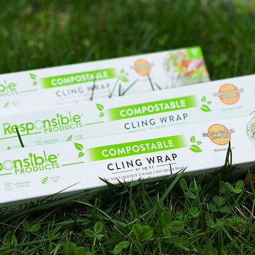 Compostable Cling Wrap - Responsible Products