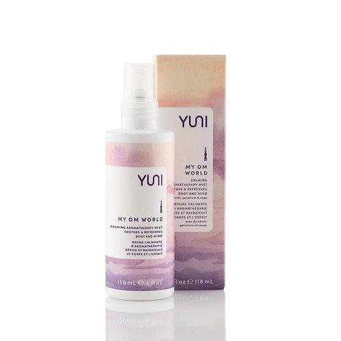 My Om World - Aromatic Body Mist - YUNI