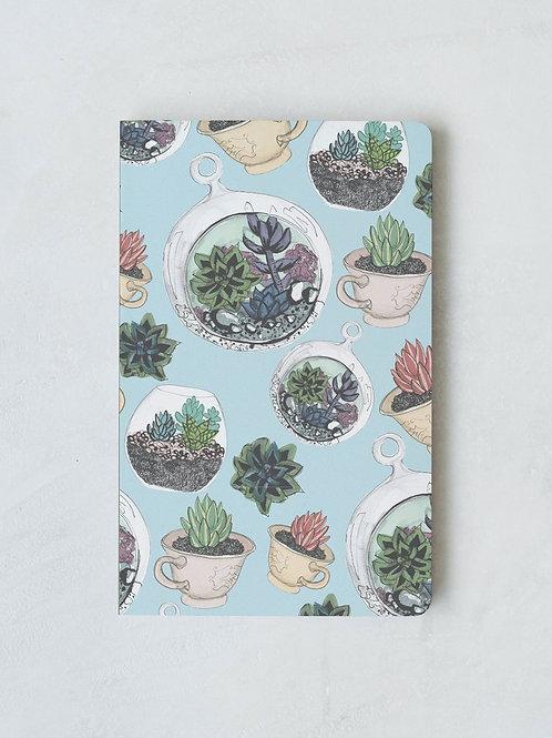 Denik Succulents Notebook