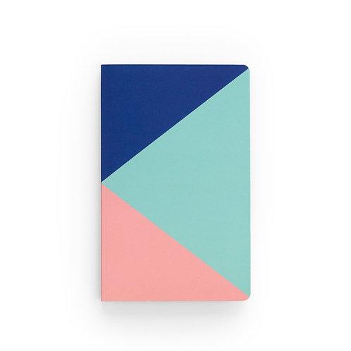 Denik Tri-Color Notebook